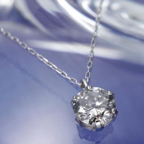 純プラチナ 0.5ct ダイヤモンドペンダント/ネック...