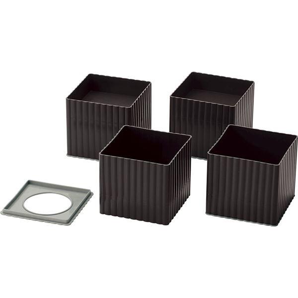 テーブル用 継ぎ足/リビング用品 〔約107×107×9...