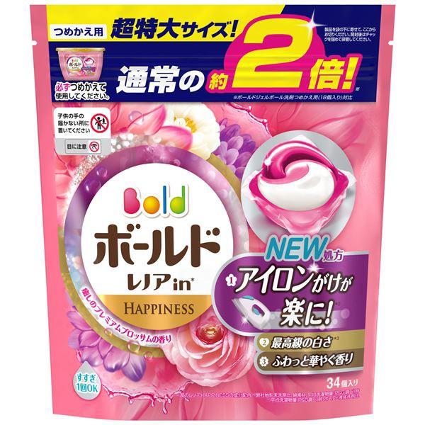 P&G ボールドジェルボール3D癒しのプレミアムブ...