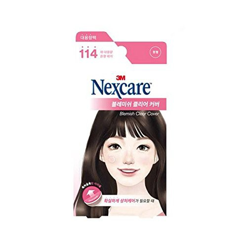 [New] 3M Nexcare Blemish Clear Cover Easy Peel...