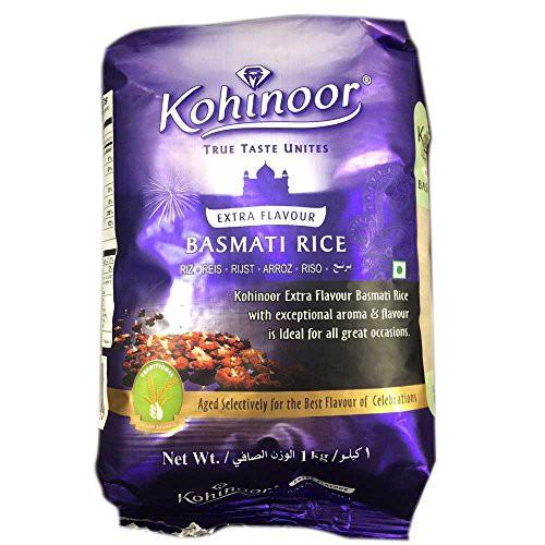 バスマティライス インド産 Kohinoor 1kg Basmati...