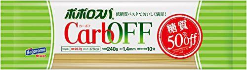 はごろも ポポロスパ CarbOFF(低糖質パスタ) 1.4m...