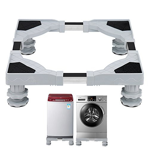洗濯機台かさ上げ 昇降可能のドラム式洗濯台 幅45...