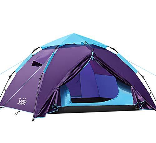 Sable テント 数秒設営 ワンタッチ キャンプテン...