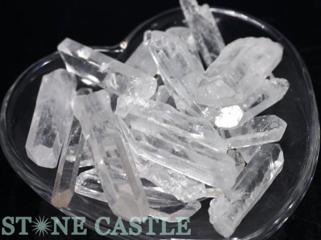 【天然石 原石】水晶ポイント原石(ブラジル産) (E...