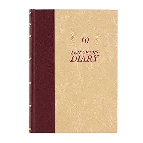 アピカ 日記帳 10年日記 横書き B5 日付け表示あ...