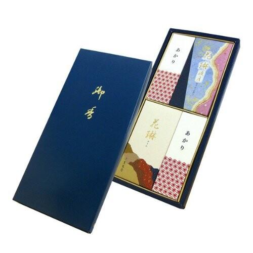 薫寿堂のお線香 花琳渡月 二種香 紙箱入 #173