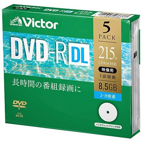 ビクター Victor 1回録画用 DVD-R DL CPRM 215分 ...