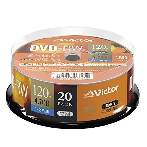 ビクター Victor くり返し録画用 DVD-RW VHW12NP2...