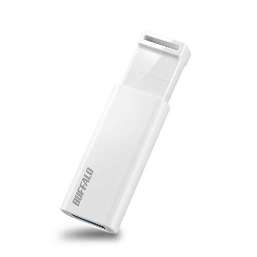 BUFFALO USBメモリ 64GB ノックスライド式 USB3.2...