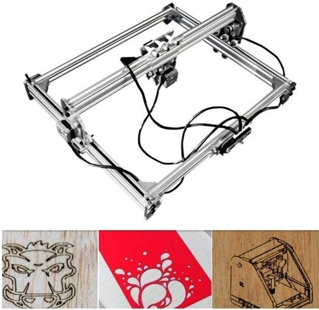 レーザー彫刻機 デスクトップ木材ルーター/カッタ...