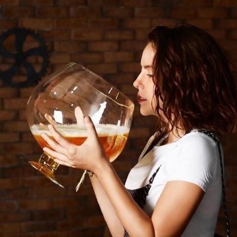 大きい 巨大 Big ブランデー ワイングラス ウェデ...