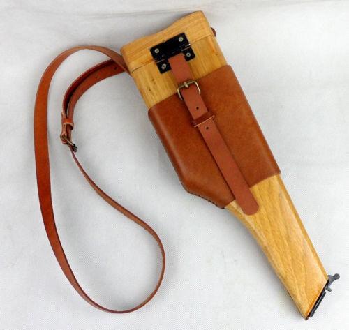 モーゼル M712 ストックホルスター 木製 ストック...