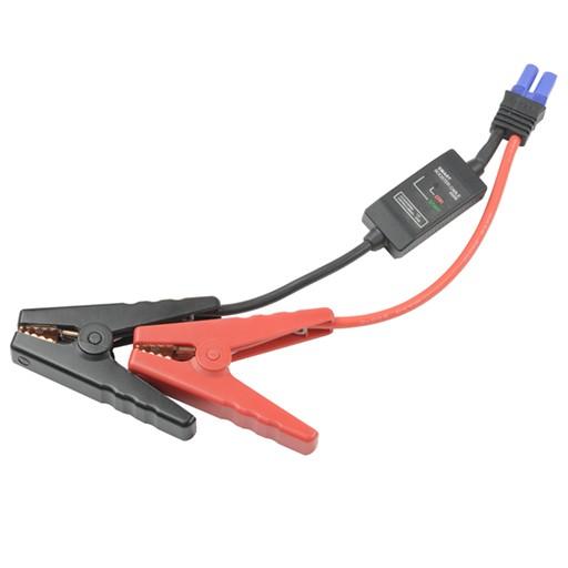 保護回路付きバッテリークランプケーブル STRAIGH...