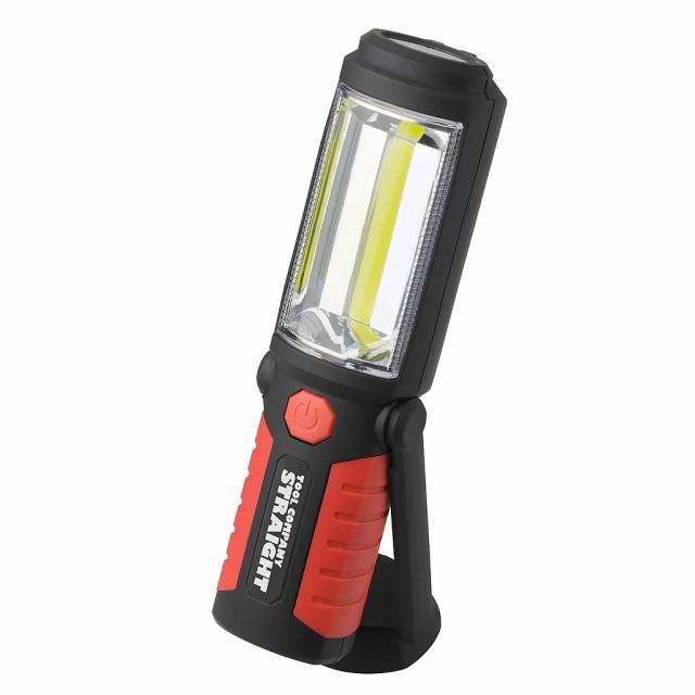 LEDライトCOB 乾電池式 単3タイプ STRAIGHT/38-91...