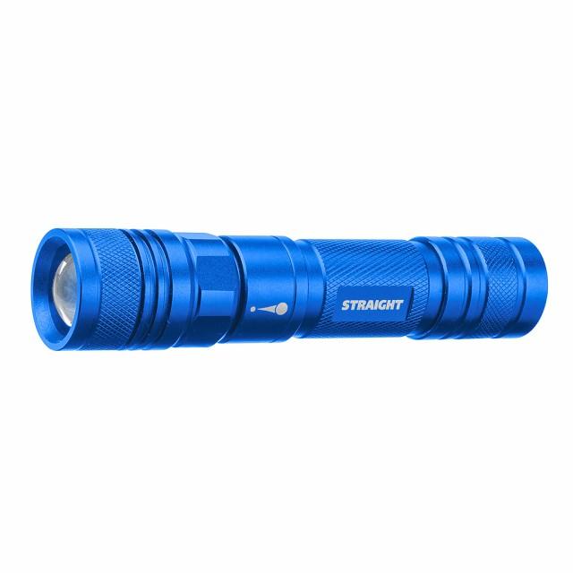 LEDライト 3W 充電式 フォーカスタイプ ブルー ST...