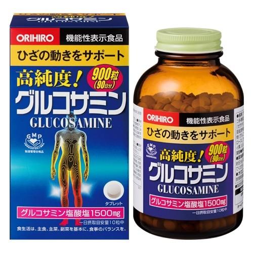 高純度 グルコサミン粒徳用 900粒 ORIHIRO オリヒ...