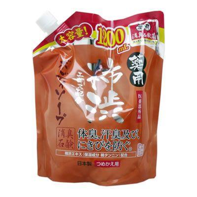 薬用 柿渋エキス配合ボディソープ 詰替用 1200mL ...