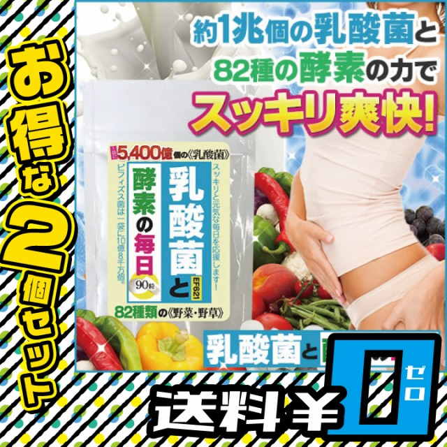 乳酸菌と酵素の毎日 2個セット【送料無料】ダイエ...