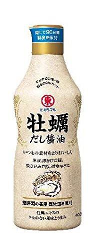 全国送料無料 ヒガシマル醤油 牡蛎だし醤油400ml...