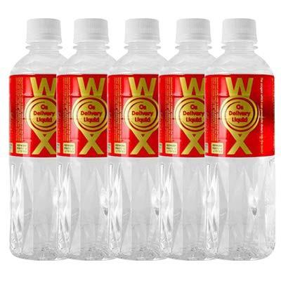 酸素水 高濃度酸素水 WOXウォックス 5本セット