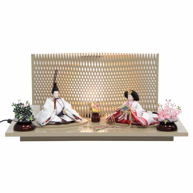 雛人形 親王平飾り【左京】京十二番 [幅60cm] 田...