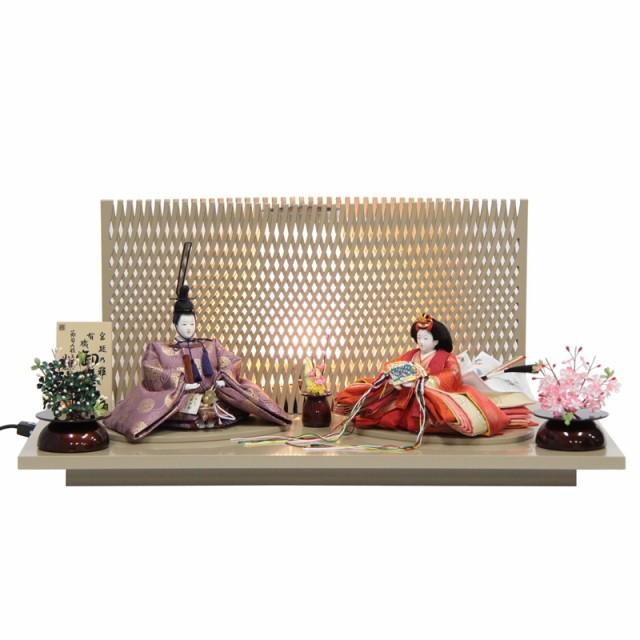 雛人形 親王平飾り【平安雛】 [幅60cm] 小出松寿 ...