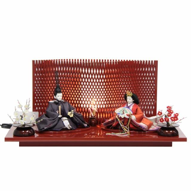 雛人形 親王平飾り【左京】京十一番 [幅69cm] 田...
