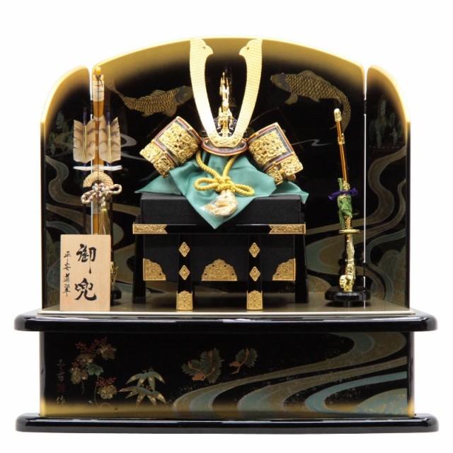 五月人形 兜平飾り【天彩】18号 幅82cm[195to1098...