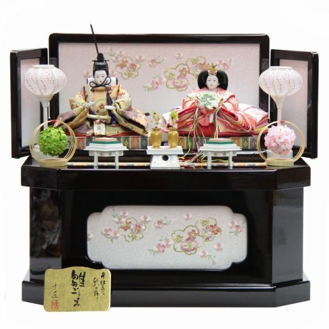 雛人形 親王収納飾り 千匠 hs99-16 hs1500 ワイン...