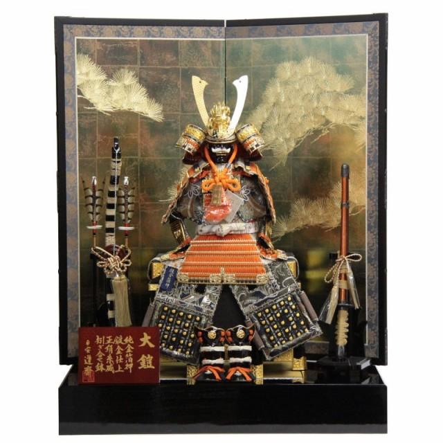 五月人形 鎧 平飾り 10号 幅80cm gk75/2gs1072 22...