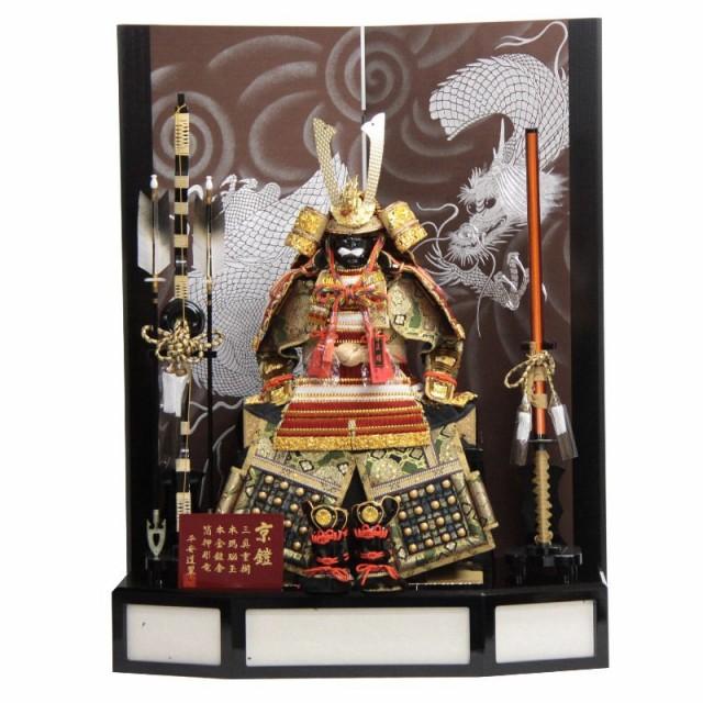 五月人形 鎧 平飾り 10号 幅85cm gk156/2gs1089 2...