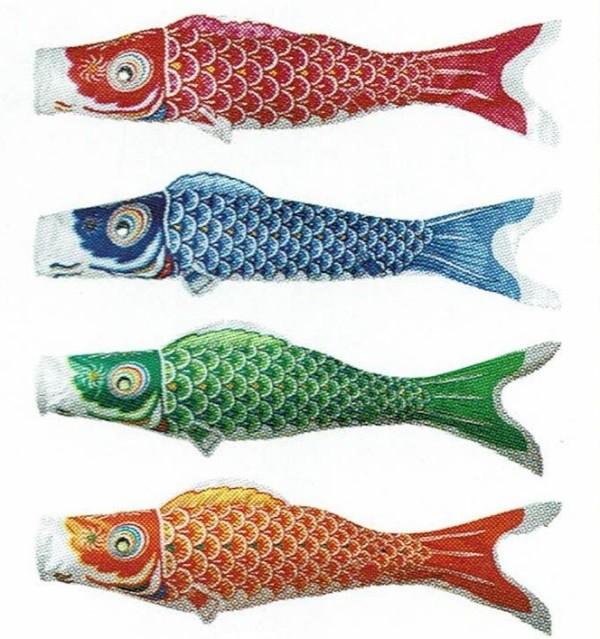 [東旭][鯉のぼり]簡単[どこでも鯉のぼり][0.8m鯉4...