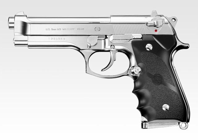 東京マルイ GBBハンドガン M92F ChromeStainless ...