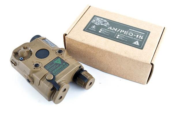 VFC PEQ-15型バッテリーケース (ケース単体) FDE