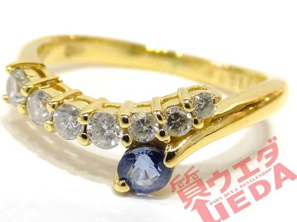 【JEWELRY】リング 指輪 K18 YG イエローゴールド...