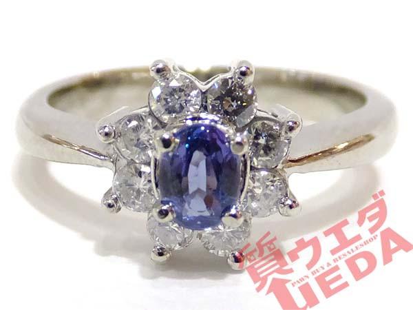 【JEWELRY】指輪 リング #8.5 Pt900 プラチナ ア...