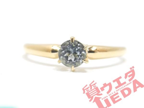 【4℃】ヨンドシー リング 指輪 11号 K18 イエロ...