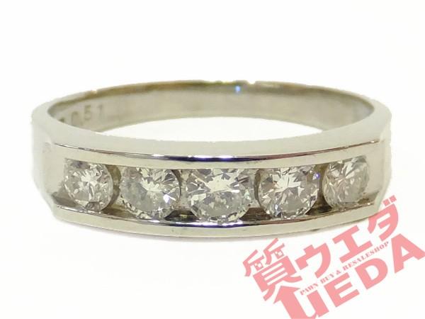 リング ダイヤモンド Pt900 指輪 プラチナ 14.5号...