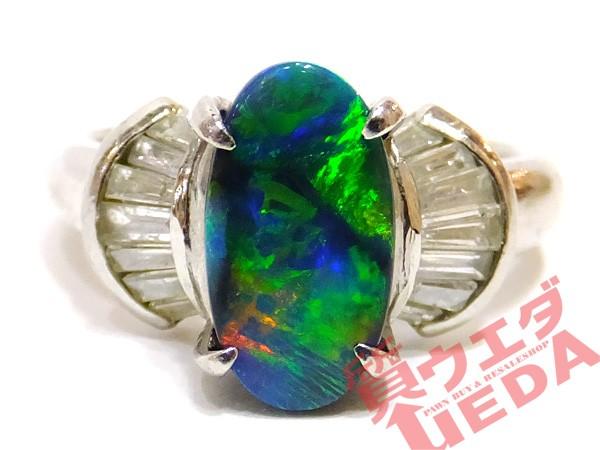 【JEWELRY】リング オパール 1.18ct ダイヤモンド...