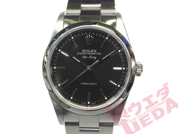 【ROLEX】ロレックス エアキング 14000M A番 ブラ...