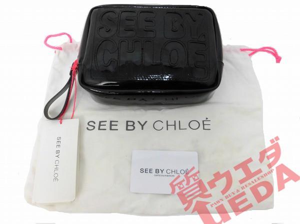 【SEE BY CHLOE】シーバククロエ/ポーチ/18cm...