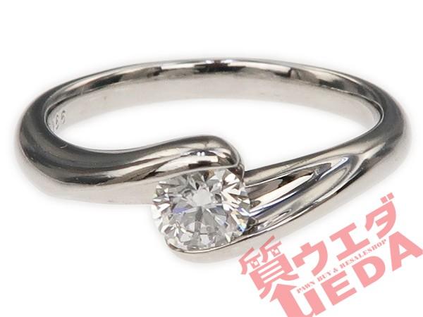 【JEWELRY】リング ダイヤ 0.266ct PT950 プラチ...