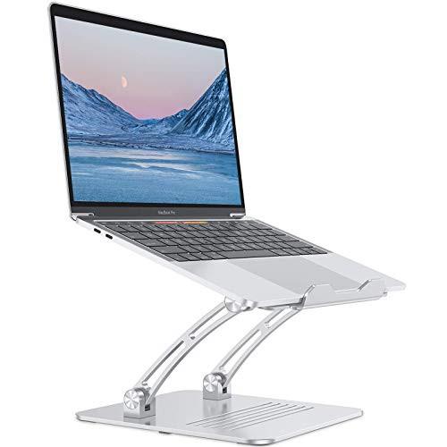 OMOTON ノートパソコンスタンド 高さ調節可能 ア...