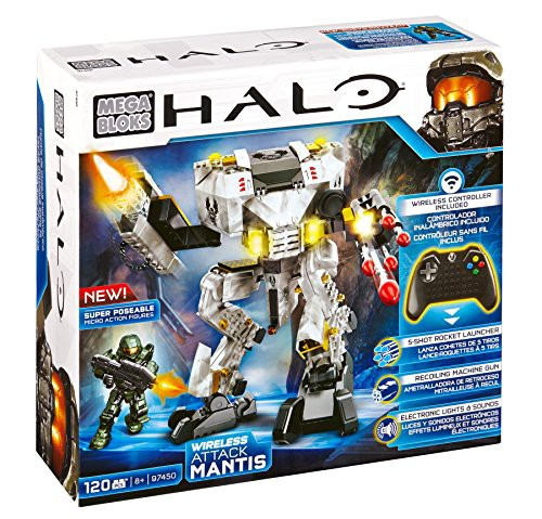 メガブロックMega Bloks Halo Wireless Attack Ma...