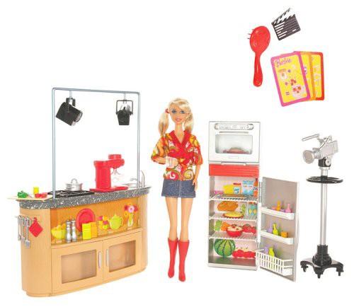 バービーBarbie Mattel I Can Be TV Chef Playset...