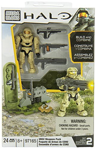 メガブロックMega Bloks Halo UNSC Weapons Pack