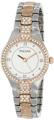 【当店1年保証】パルサーPulsar Womens PH8058 Analog Display Japanese Quartz Gold Watch