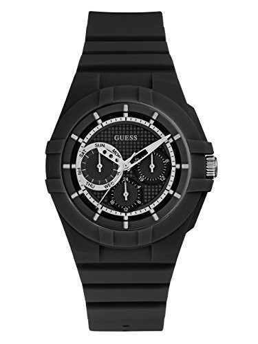 【当店1年保証】ゲスGUESS Men's Quartz Rubber ...