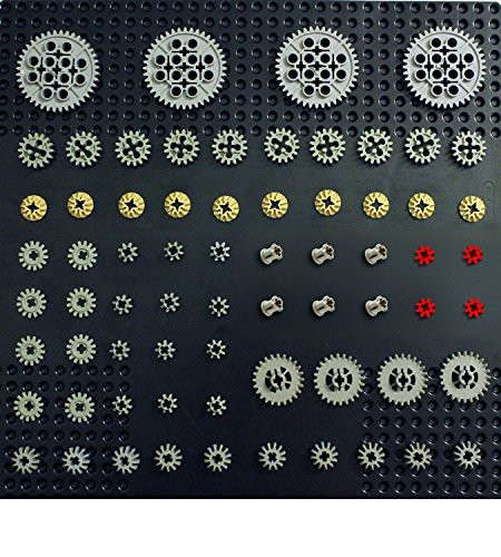 レゴLEGO Technic 68 pcs GEAR Pack Set Lot Mind...